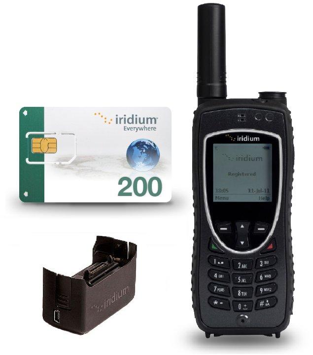 Iridium satelliittipuhelin haastaviin olosuhteisiin